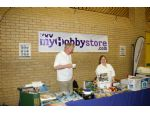 Dave and Marion Brumstead selling the MyHobbyStore brand.